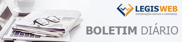 Banner Boletim Diário LegisWeb